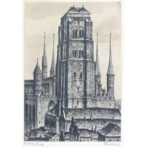 Paul Kreisel (1891 Gdańsk - 1956), Kościół Mariacki w Gdańsku