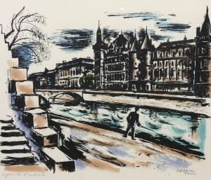 Michel Adlen (1898 Łuck – 1980 Paryż), Sekwana w Paryżu
