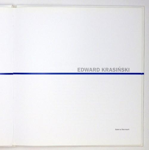 Galeria Starmach. Edward Krasiński. Kraków, VI 2005. 4, s. [48]. opr. oryg. kart.