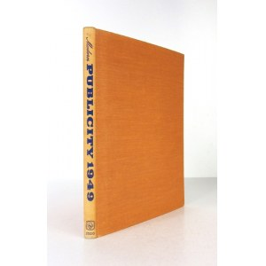 MODERNPublicity 1949. Editors: F. A. Mercer and C. Rosner. London-New York [1950?]. The Studio Publications. 4, s....