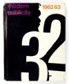 MODERN Publicity 1962/3. London 1962. Studio Books. 4, s. 174, [2], VIII. opr. oryg. pł.,...
