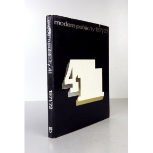MODERN Publicity 1971-72. Editor F. Gluck. Vol. 41. London [cop. 1971]. Studio Vista. 4, s. 176. opr. oryg. pł.,...