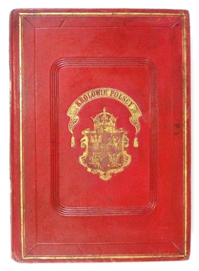 Poczet królów polskich A. Lessera z 1860 r. w oprawie A. Kantora