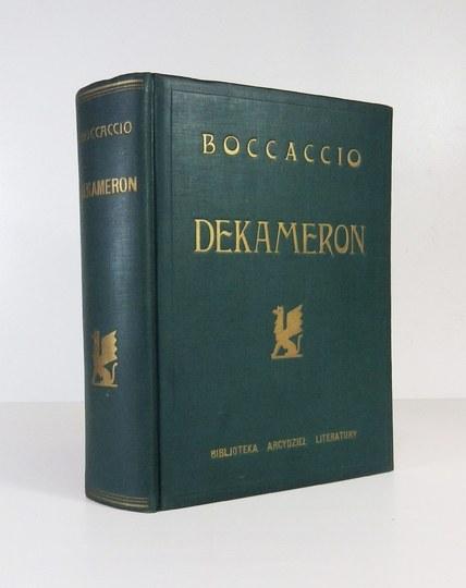 BOCCACCIO G. - Dekameron. Z ilustracjami Mai Berezowskiej. 1930.