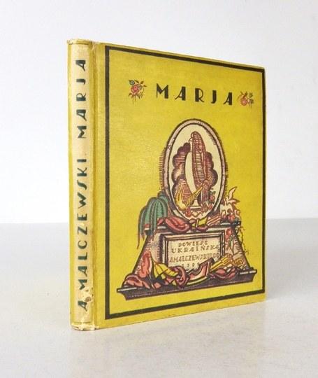 MALCZEWSKI A. - Maria. Z litografiami Teodora Rożankowskiego. 1922.