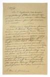 [GOŁUCHOWSKIAgenor, namiestnik Galicji]. Zbiór różnych dokumentów rękopiśmiennych dotyczących osoby Agenora Gołuchowski...