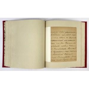 [ZAMACHna wielkiego księcia Sergiusza Aleksandrowicza Romanowa 17 II 1905]. Odręczne wspomnienia Mikołaja Fiodorowa opi...