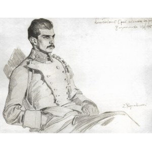 BELINA-PRAŻMOWSKI W. – w mundurze legionowym - wg rysunku Z. Rozwadowskiego.