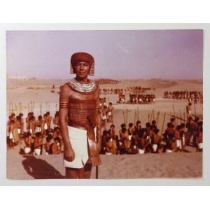 Barwne fotosy z filmu Faraon, 1966.