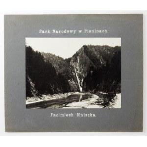 [GÓRY - Park Narodowy w Pieninach - Facimiech Mniszka - fotografia widokowa]. [l. 20./30. XX w.]....