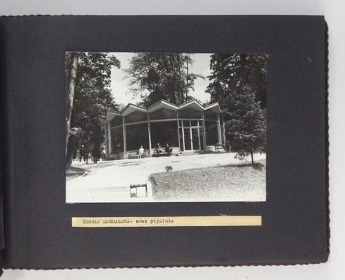 [GÓRY - Szczawnica - modernizacje pijalni wód mineralnych - fotografie dokumentacyjne]. [l. 60./70. XX w.]....