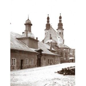 [KRAKÓW - widok na klasztor Klarysek i kościół św. Andrzeja przy ul. Grodzkiej - fotografia widokowa]. [ok. 1903]...