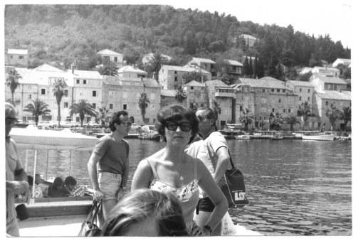 [PASSENT Daniel, KYDRYŃSKI Lucjan - na wczasach - fotografia sytuacyjna]. 29 VII 1978. Fotografia form. 12x17,...