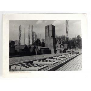 STAPIŃSKI B. – Pomnik na terenie b. obozu w Oświęcimiu – fotografia.