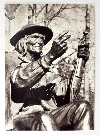 STAPIŃSKI B. – figura Sabały w Zakopanem – fotografia.