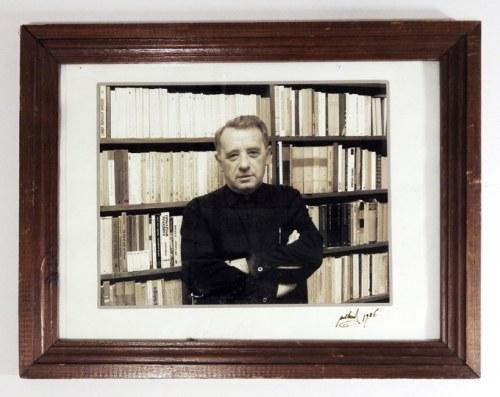 Józef Tischner na sygn. fotografii autorstwa Konrada Pollescha, 1986.