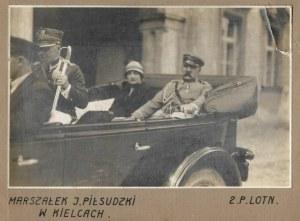 Marszałek J. Piłsudski na V Zjeździe Legionistów w Kielcach. 8 VIII 1926.