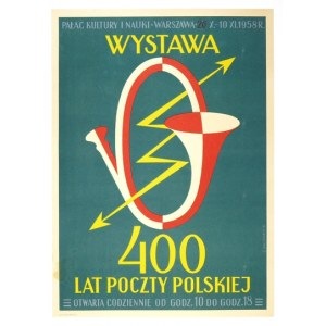 KACZMARCZYK C. - Wystawa 400 lat poczty polskiej. 1958.