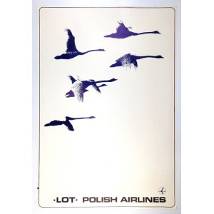 MALICKI Zbigniew - LOTPolish Airlines. 1976.