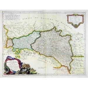 [GALICJA]. Carte de la Pologne Autrichienne. 1775.
