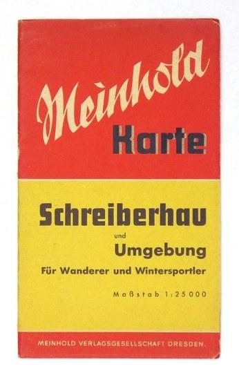 [KARKONOSZE]. Umgebung von Schreiberhau [= Szklarska Poręba]. Mapa barwna form. 49,...
