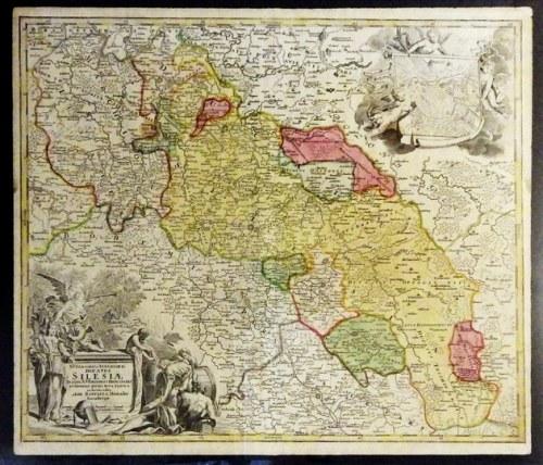[ŚLĄSK]. Superioris et Inferioris Ducatus Silesiae. Przed 1729.