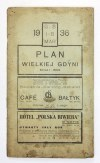 [GDYNIA]. Wielka Gdynia. Plan barwny na ark. 68,8x74,4 cm.