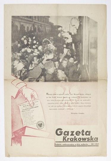 GAZETAKrakowska. 20 I 1957.