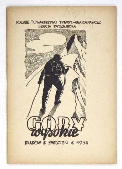 GÓRY Wysokie. [Nr 1]: IV 1954.