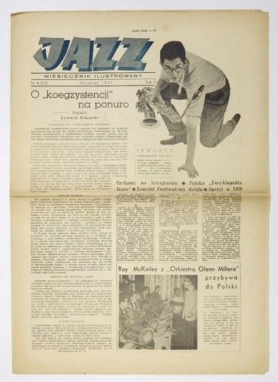JAZZ. R. 2, nr 4 (10): IV 1957.