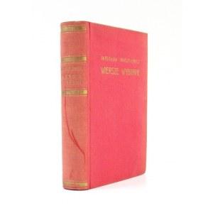 IWASZKIEWICZ Jarosław - Wiersze wybrane. Warszawa 1938. Wyd. J. Przeworskiego. 16d, s. 352, [3], tabl. 1. opr. oryg....