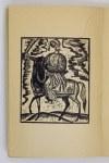 ŁOBODOWSKI Józef - Złota Hramota. (Drzeworyty - Jurij Kulczyćkyj). Paryż 1954. Instytut Literacki. 8, s. 189, [3]...