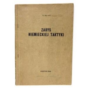WITZLEBEN [Hermann] von - Zarys niemieckiej taktyki. Tłomaczenie podręcznika: Kurzer Abriss der Taktik von G....