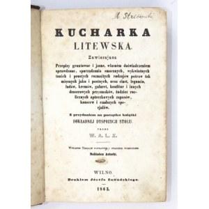 Dwie współoprawne polskie książki kucharskie z 1863 i 1847 r.