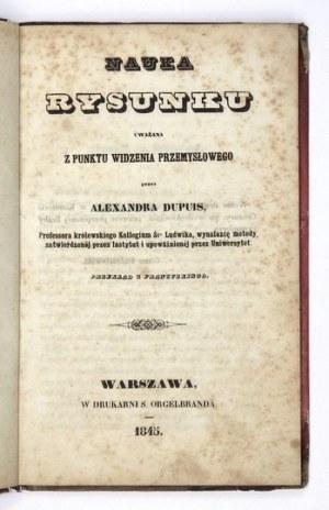 DUPUISAlexander – Nauka rysunku. 1845