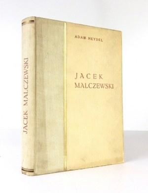 HEYDEL Adam - Jacek Malczewski, człowiek i artysta. W tekście 114 ilustracyj, 47 tablic w rotograwiurze i 4 trójbarwne. ...