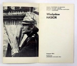 Władysław Hasior. Warszawa, XI 1974. Katalog