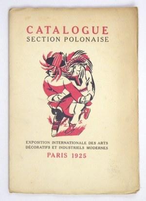 Paryż 1925 - Katalog działu polskiego. Okładka Zofii Stryjeńskiej.