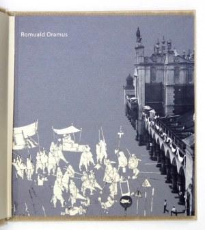 Katalog wystawy prac R. Oramusa z oryginalną akwafortą.