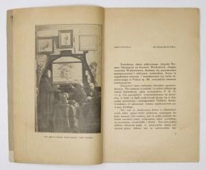 WYSTAWA okrężna. Warszawa 1928.Komitet Wystaw Okrężnych przy Polskiem Tow. Artyst. 8, s. 48, [14], tabl. 1....