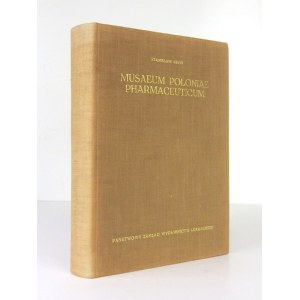 PROŃ Stanisław - Musaeum Poloniae pharmaceuticum, seu artis pharmaceuticae experimentalis spectrum. Rzecz o muzealnictwi...