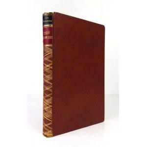 ERENBURGI. - Sześć opowieści o łatwych skonach. Z 6 drzeworytami W. Wąsowicza. 1927