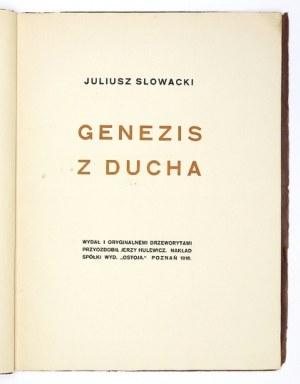 SŁOWACKI J. – Genezis z ducha z 1918 z drzeworytami J. Hulewicza.