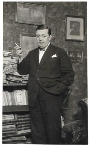 [KIEDRZYŃSKI Stefan - fotografia sytuacyjna]. [1928]. Fotografia form. 18x12,5 cm,...