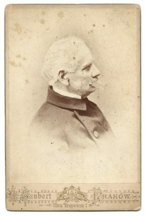 [POL Wincenty - fotografia portretowa]. [2. poł. XIX w.]. Fotografia form. 13,3x9,8 cm na oryg. podkładzie form....
