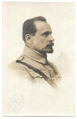 [WOJSKO Polskie - gen. Józef Haller - fotografia portretowa]. [1919?]. Fotografia pocztówkowa form. 13,5x8,...