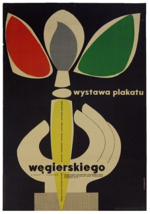 JANOWSKI Witold - Wystawa plakatu węgierskiego. 1956.