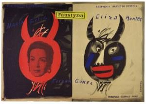 JAWOROWSKI Jerzy - Faustyna. [1958].