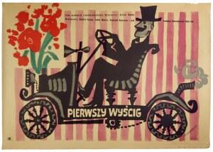 STAROWIEYSKI Franciszek - Pierwszy wyścig. [1958].