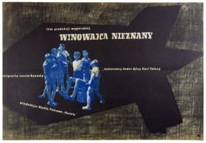 TREUTLER Jerzy - Winowajca nieznany. [1958].